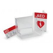 Philips AED Wall Mount and Signature Bundle - English