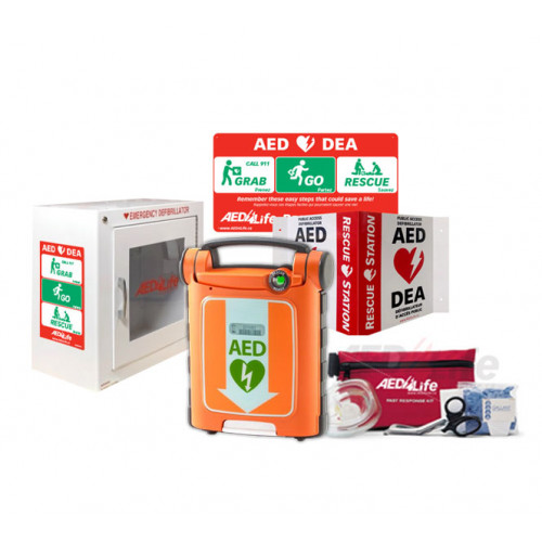 Cardiac Science G5 BILINGUAL AED - Complete Package