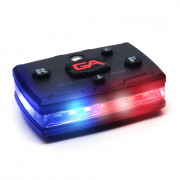 Elite Series Red/Blue Wearable LED Safety Light