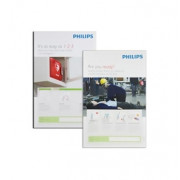 Philips AED Awareness Poster Pack, 4 pack, French