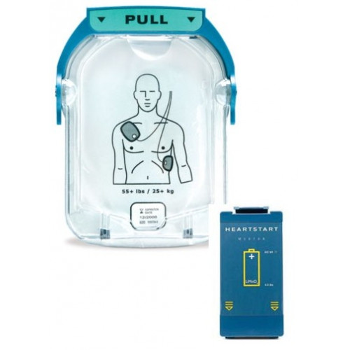 Philips OnSite Refresh Pack Contains 1 Adult Cartridge and 1 OnSite battery