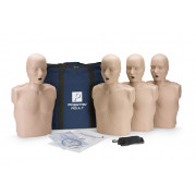 Prestan Professional Adult CPR-AED Training Manikin (Medium Skin, Without CPR Monitor) 4-Pack