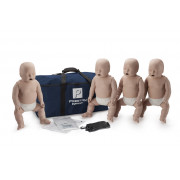 Prestan Professional Infant CPR-AED Training Manikin (Without CPR Monitor) 4-Pack