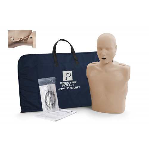 Prestan Professional Adult CPR-AED Training Manikin With Jaw Thrust Head