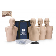 Prestan Professional Adult CPR-AED Training Manikin With Jaw Thrust Head (With CPR Monitor) 4-Pack
