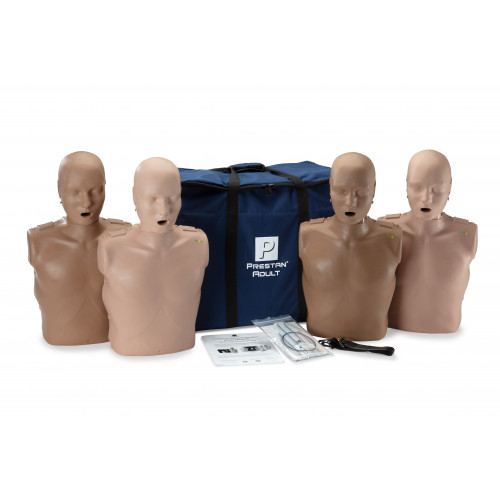 Prestan Professional Adult CPR-AED Training Manikin  4-Pack