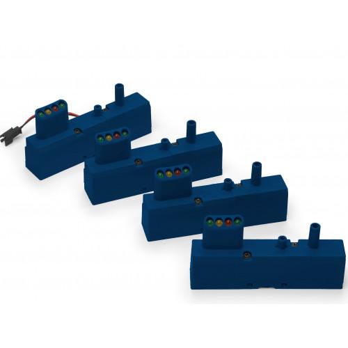 Monitors for Prestan Adult Manikin (4-pack)