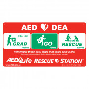 RescueStation™ Flat Sign