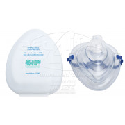 CPR Face Mask, w/One-Way Valve and  gloves
