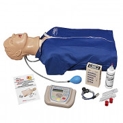 "Life/form Advanced ""Airway Larry"" Torso with Defibrillation Features, ECG Simulation, and AED Training"