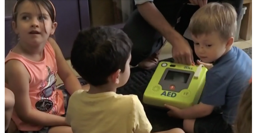 AED donated to Laurentian Child and Family Centre, Sudbury