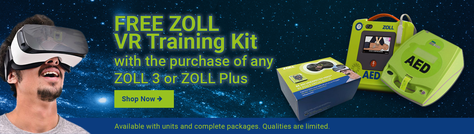 Free Zoll VR  Training Goggles
