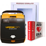 Physio-Control LIFEPAK CR Plus AED - Complete Package