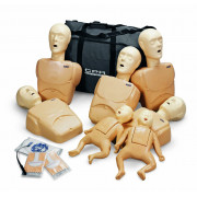 Tan CPR Prompt TPAK 100T Adult/Child Training Pack - 5 Manikins