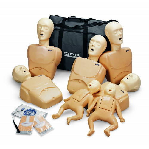 c4155f42775 Tan CPR Prompt TPAK 100T Adult/Child Training Pack - 5 Manikins - AED4Life