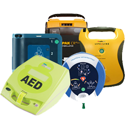Old AED Units